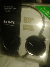 SONY MDR-XB400 Stereo Headphones