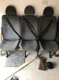 Crew seats / crew cab