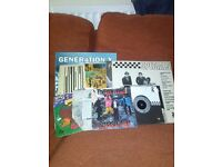 Selection of 70s/80s punk/ska records