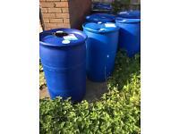 200 litres plastic drum