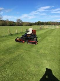 Ransomes Jacobsen Tplex 185 Triple Cylinder Lawn Mower