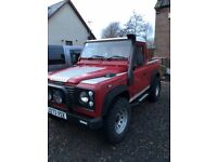 defender 90 pickup (galvanised chassis) may px