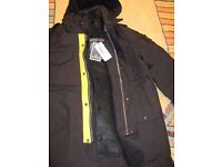 Stone Island Raso Gomatto Jacket with Removable Quilted Lining