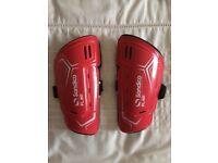 Sondico small football shin pads