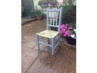 Gorgeous and beautifully restored antique child's chair