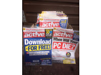 77x Computer Active Magazines- some unread - £5 the lot