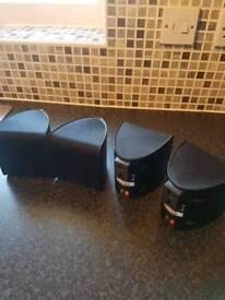 Set of 4 Pioneer Speakers 150w