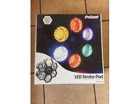 Led strobe pod disco lights