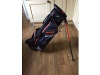 New Lynx Waterproof golf bag with retractable legs. Lightweight . Unwanted prize