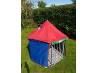 Baby Dan play pen with tent and mat