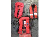 Life jackets x 3
