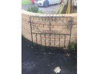 Single Gate / Garden Gate / Wrought Iron Gate W-R