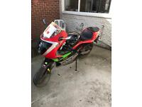 Derbi GPR-50 geared 50cc motorbike ped. Like the aprilia aprilia rs 50 rs-50 rs50