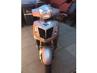 16 reg Baotain citibike2 125cc silver 1010 miles mint condition (1st to see will buy) £750