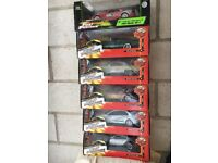 Diecast Fast & Furious Model Cars x 6 still boxed