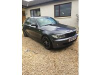 BMW 120D SPORT REMAPPED 190 BHP **REDUCED** 1 YEAR MOT