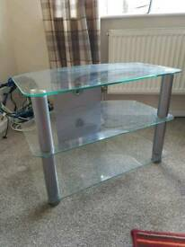 FOR SALE - £15 Glass TV stand