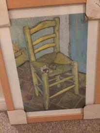 The chair - Van Gogh picture