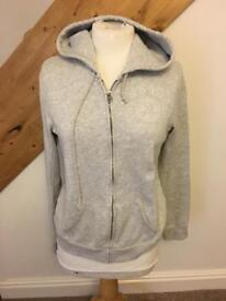 Abercrombie and Fitch grey zip hoodie M