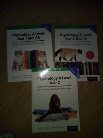 A Level Psychology Textbooks