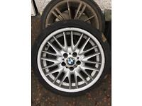 BMW Mv1 spare alloys 5x120 18 inch