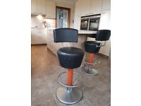 Beautiful Pair Of Italian Made Bar Stools