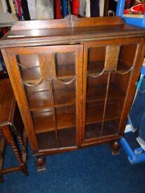 old china display cabinet