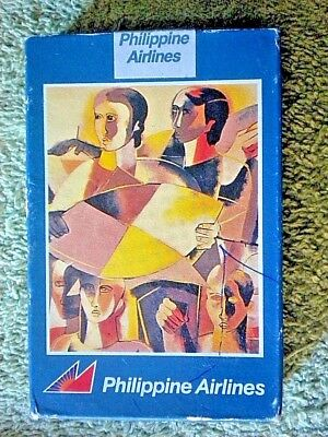 Vintage Collectible Philippine Airlines Playing Cards