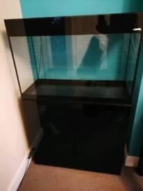 Aquael 3ft black gloss tank bundle