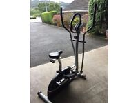 V-fit MCCT-1 Magnetic 2-in-1 Cycle Elliptical Cross Trainer & Mat
