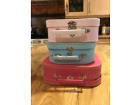 Girls Storage boxes