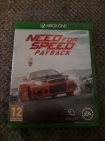 Need For Speed Payback X Box One