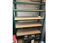 Garage/Warehouse shelving heavy duty. 3 available.