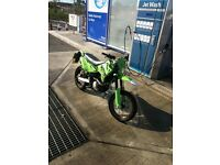 My supermoto 125cc for swap