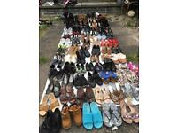 Joblot 80 pairs of shoes used in good condition £70