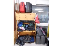 Various Suitcases/Travel Luggage/Backpacks THIS ITEM CAN BE VIEWED AT HOUSE OF HOPE CHARITY SHOP