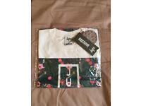 Hype White Medium T-shirt - BRAND NEW