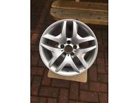 Bmw x3 alloy wheel e83 rear