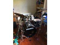 Premier 8 piece drum kit