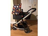 Cosatto Giggle 2 with carrycot