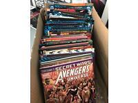 COMICS (100 comics, 4 graphic novels, 14 mini comics)