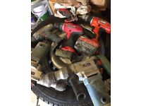 Tools hammers spares and repairs