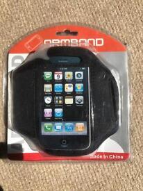 Mobile phone sports armband