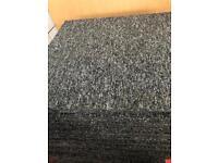 Carpet Tiles - Grey Used