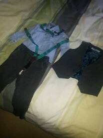 Next 12-18 tweed style suit