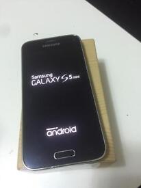 Samsung galaxy s5 mini black unlocked excellent condition