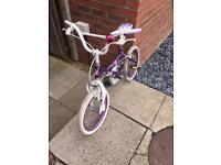 Girls purple bike age 4-7