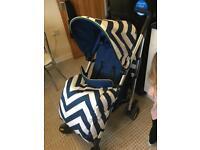 My babiiee blue pushchair