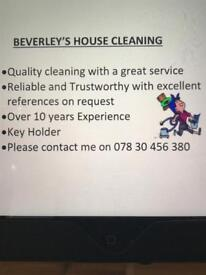 House cleans