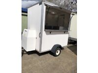Hot or cold food trailer for sale great for small set up or just coffee stance